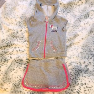 Adorable Girl's Juicy Couture Outfit